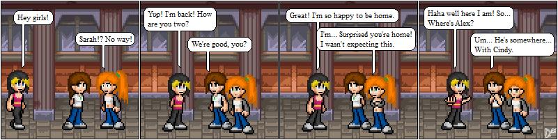 Comic 31: Enter Sarah