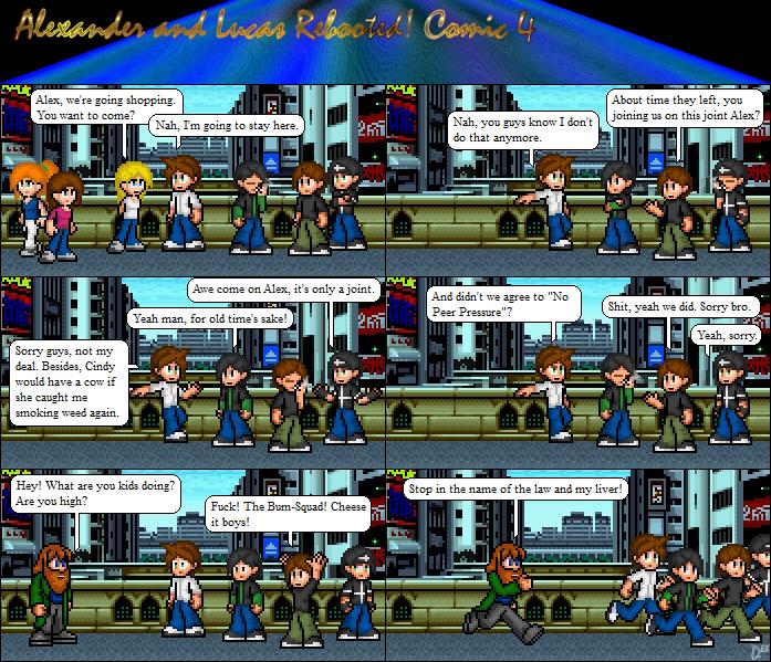 Comic 4: The Bum Squad