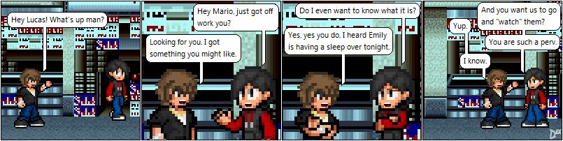 Comic 68: Mario's Plot