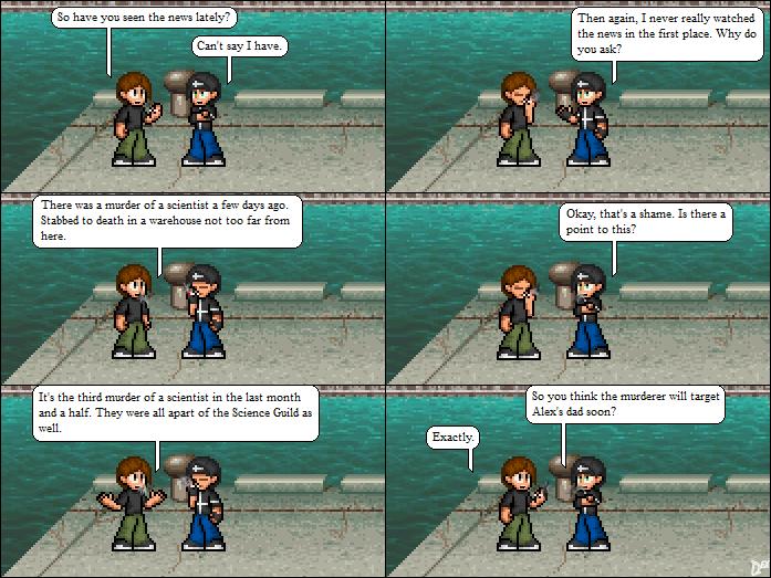 Comic 12: Smoking a Doobie