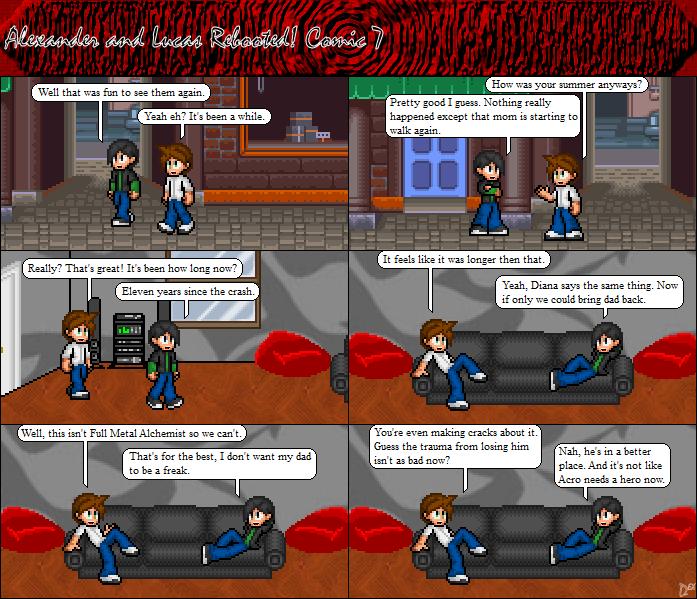 Comic 7: Back Home