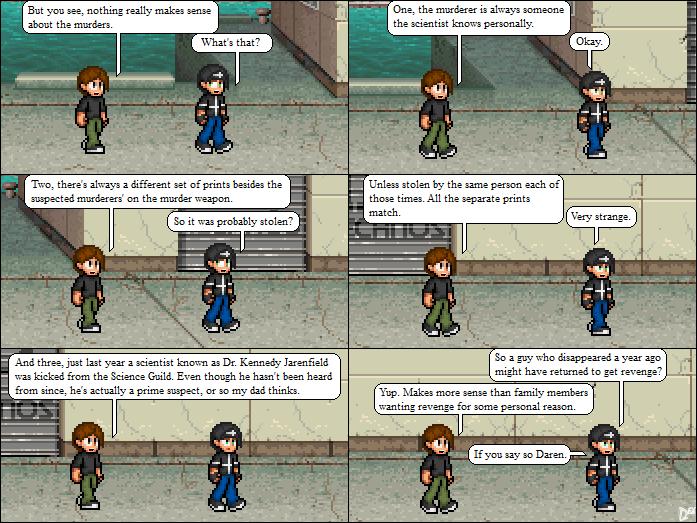 Comic 13: Daren's Thoughts
