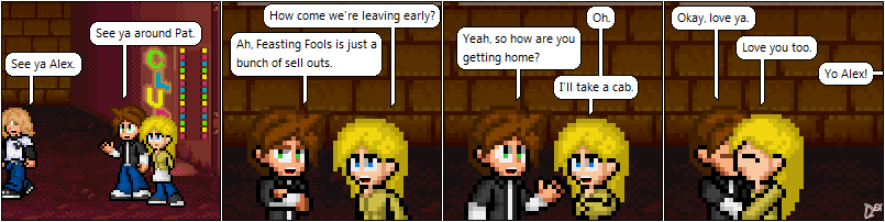 Comic 38: Ditching Early