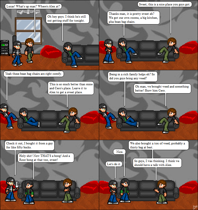 Comic 23: They Arrive