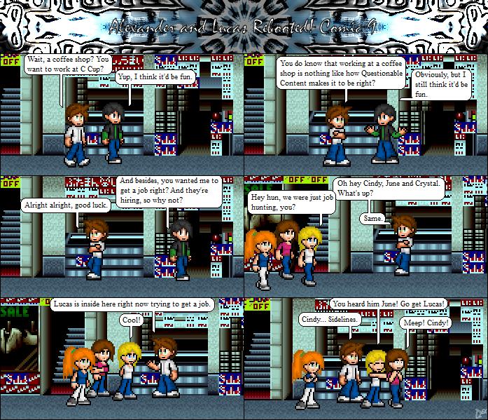 Comic 9: She got Sidelined