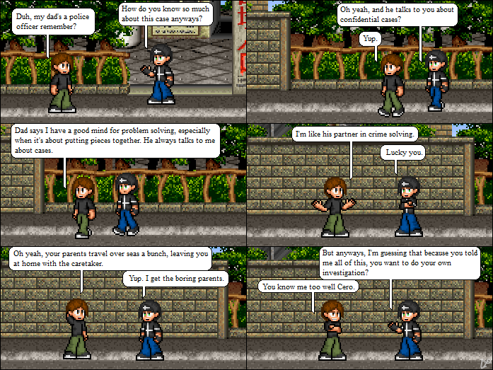 Comic 14: Meet the Parents
