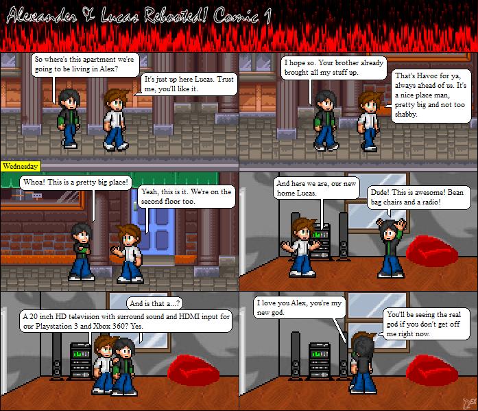 Comic 1: The Apartment